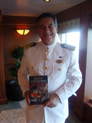 Captain Wright, Cunard Line