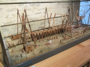 Shipbuilding model