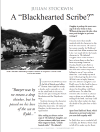 """The Blackhearted Scribe"""