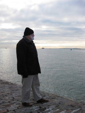 Pensive, cold in Portsmouth