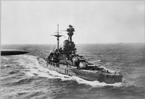 World-War II battleship that proudly carried the famous name