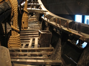 Starboard heads, historic warship 'Vasa'