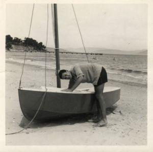 <i>Galah</i>, my first boat in Tasmania