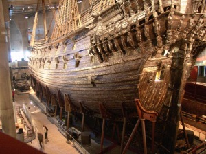 Vasa in the museum in Stockholm