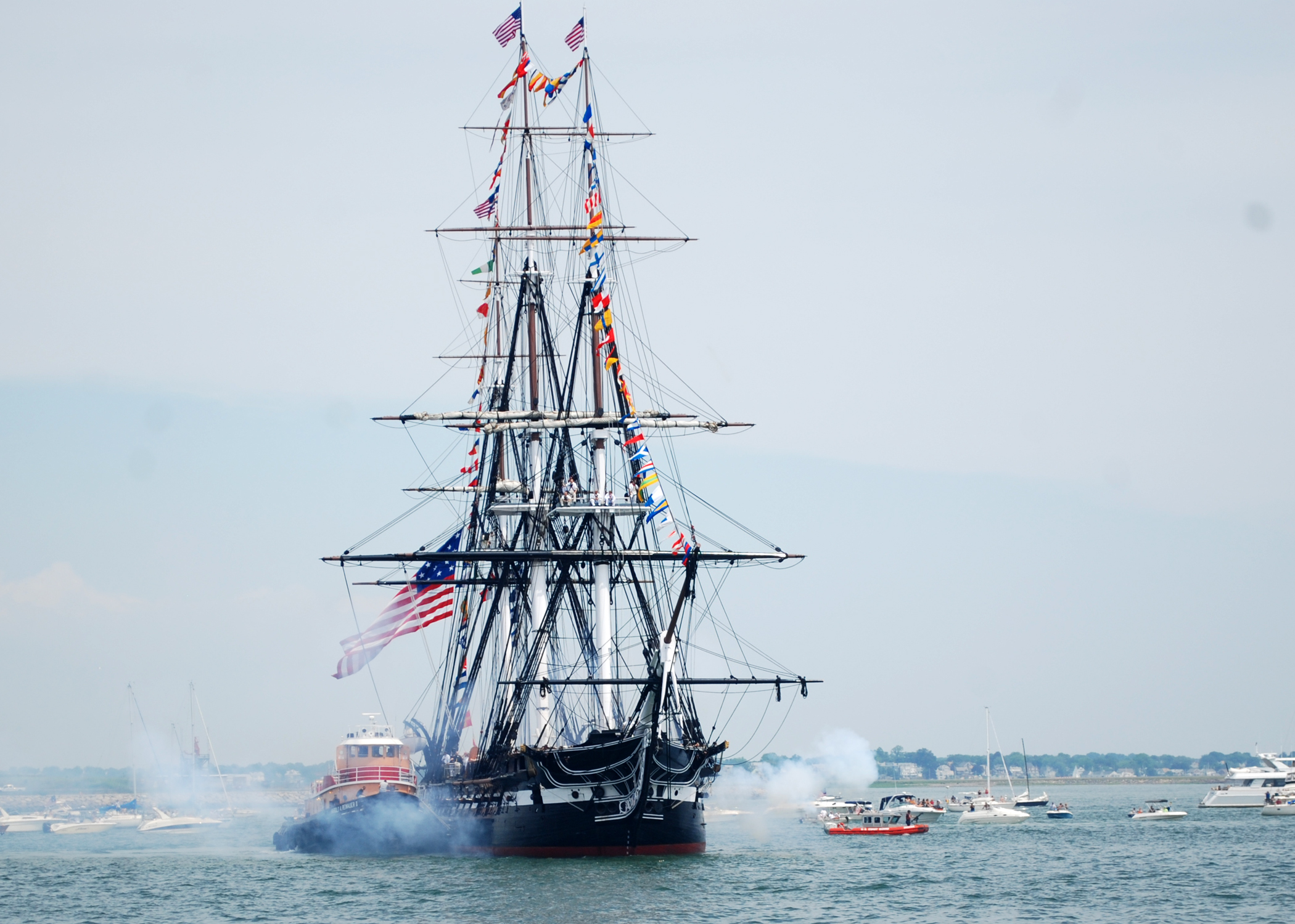 Uss Constitution USS Constitution and t...