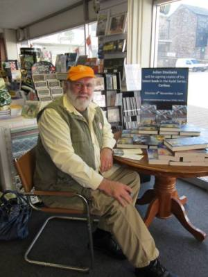 Signing CARIBBEEs at Totnes Bookshop last week
