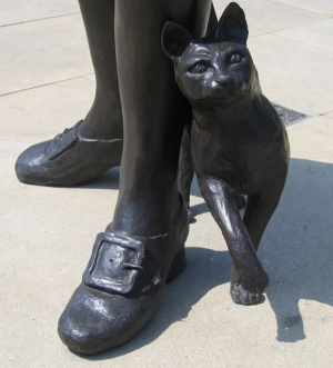 Trim, beloved cat of explorer Matthew Flinders