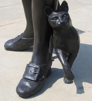 Trim, beloved cat of explorer Matthew Flinders
