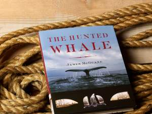 The Hunted Whale, Jim's latest book