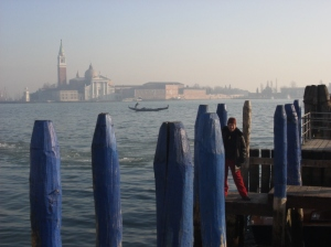 Venice, city like no other. Spot the Lovely Lady!