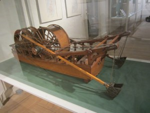An 18th c dredger operated by human power!
