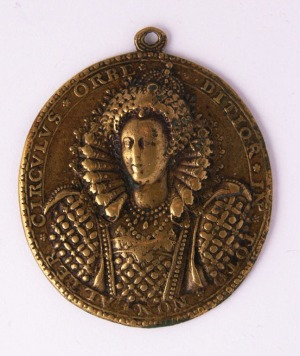 The Dangers Averted Medal, England's first naval award medal