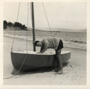 Galah, my first boat –  I sailed many of the same waters Kydd does in COMMAND