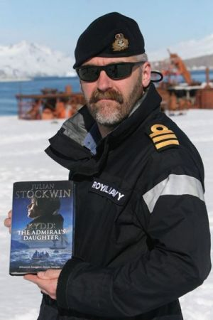 THE ADMIRAL'S DAUGHTER made it to the cold wastes of Patagonia aboard HMS Southampton