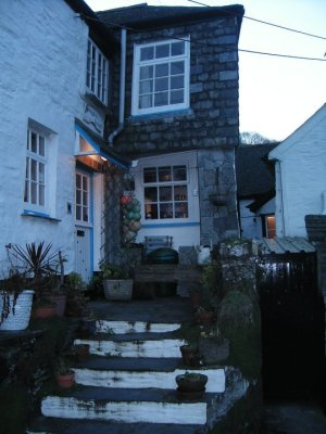 The Polperro smugglers' cottage we stayed in