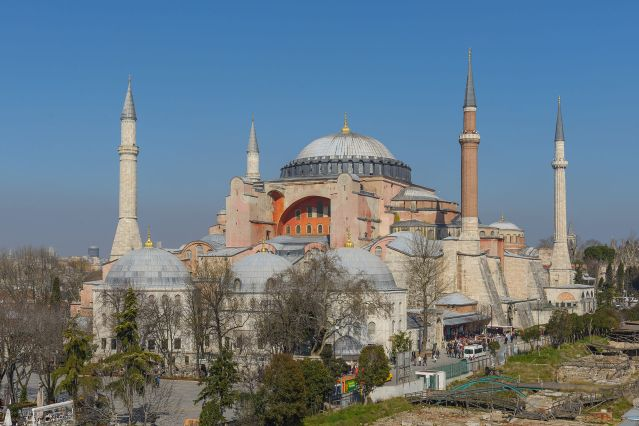 Replacement hagia sophia