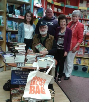 A recent book signing for Pasha