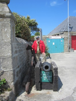 Cannon from the 1692 battle of Barfleur