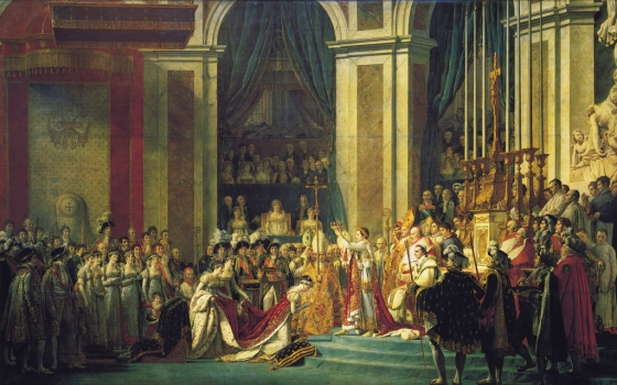 Emperor Napoleon's coronation