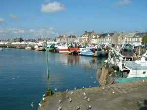 The port of Barfleur today