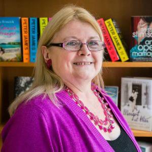 Carole Blake, my literary agent