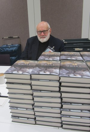 At Hodder headquarters, just a few more hundred or so to sign...
