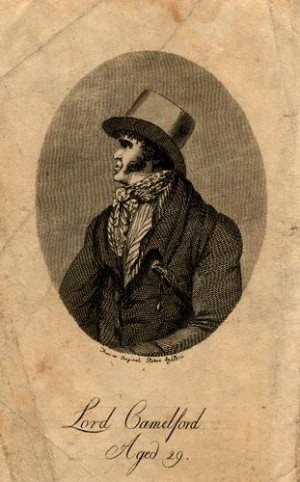 NPG D11239,Thomas Pitt, 2nd Baron Camelford,by; after Unknown engraver; C. Bond